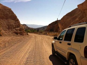 China Ranch Road in Death Valley