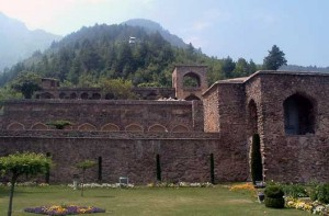Mughal Gardens at Pari Mahal (The Palace of the Fairies)