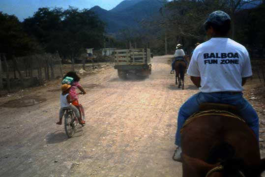 Horseback in Mexico