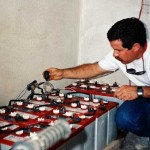 Maintaining a customer's remote home solar system