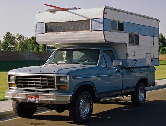 The Big Blue Beastie was our Baja office, home, and supply truck  (we've got some great stories form this truck)