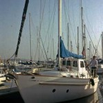 Our cruising sailboat and home for eleven years